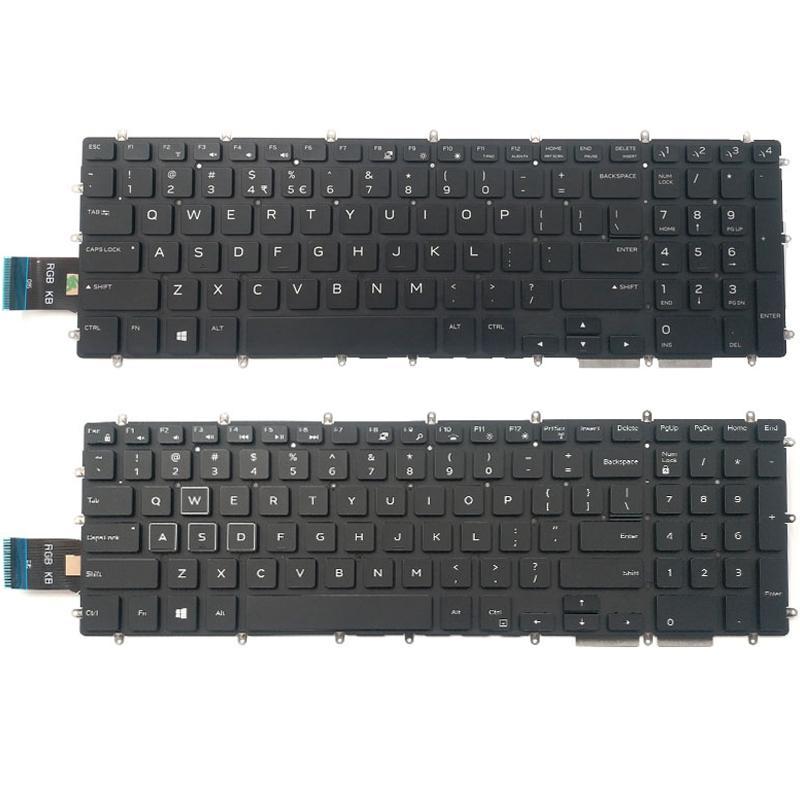 الأصلي لوحة المفاتيح الجديدة الخلفية على 2020 كمبيوتر محمول من Alienware 2020 M17 ALW17M M15X M15 ALW15M R1 P79F P79F001 الولايات المتحدة