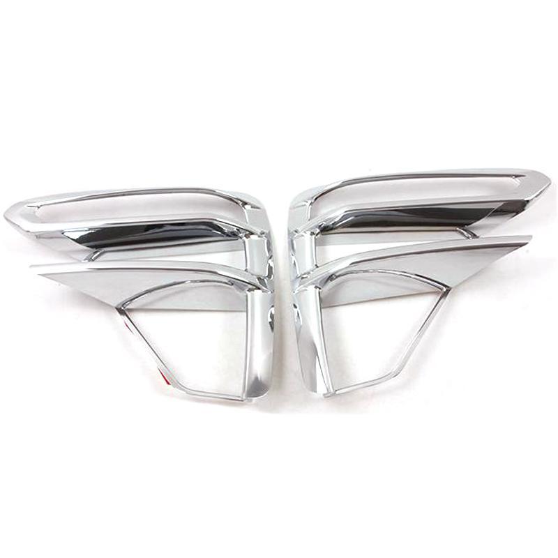 Автомобиль Передняя противотуманная фара отделка крышки Автоаксессуары ABS Chrome для Kia Cerato 2020 2020