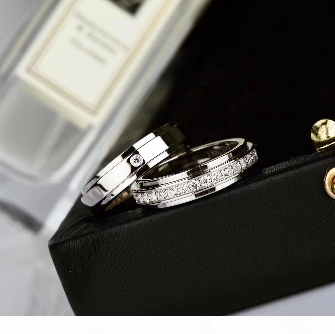 bir elmas kadın ve erkek düğün takı hediye Damla nakliye PS8809 için tek bir satır elmasla S925 gümüş serseri yüzük