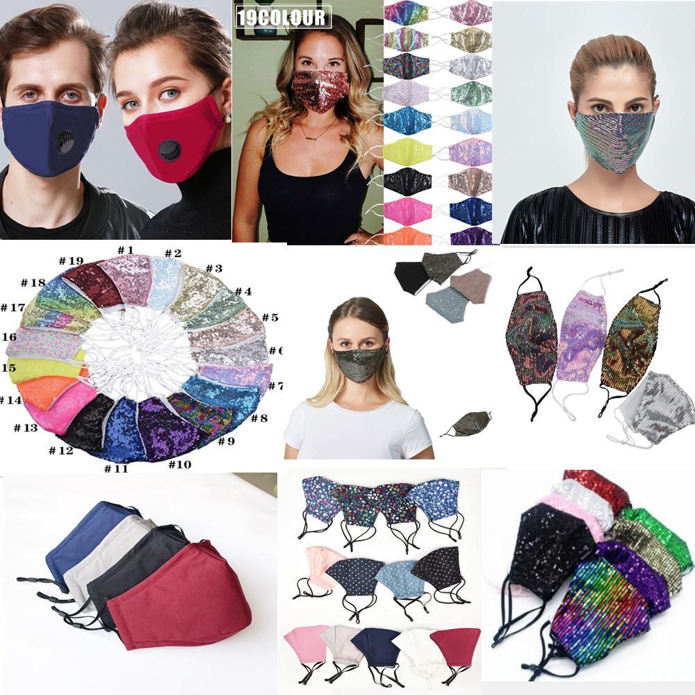 горная хрусталь моющейся маски для лица блесток многоразовой масок для лица детей хлопок маски для лица сублимация Anti-Dust Защитной маски ткани с фильтром