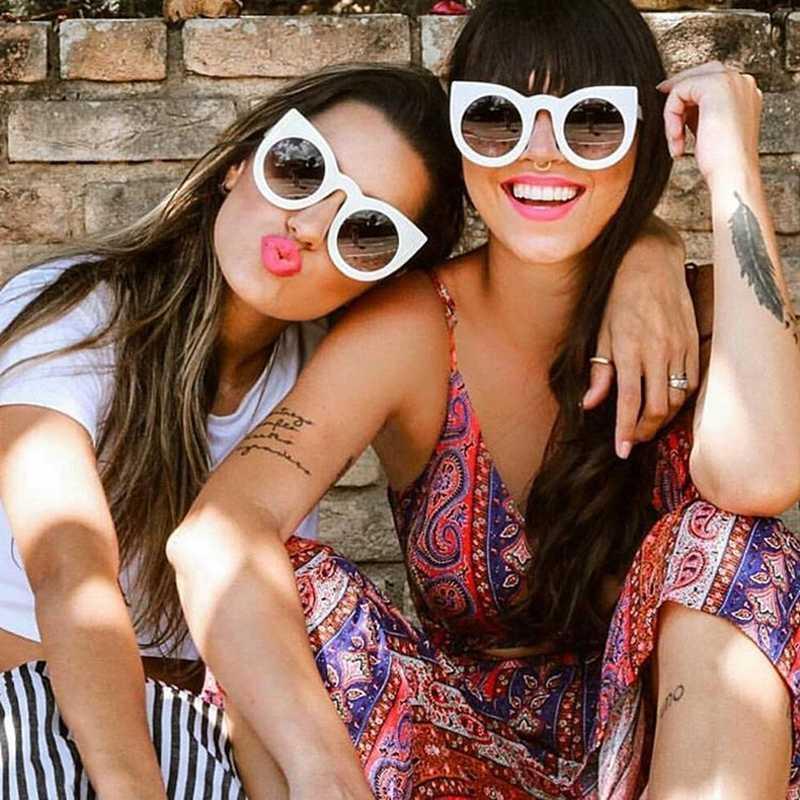 Vintage Chat Lunettes De Soleil Sunglasses Eye Shades Femme Designer Sun Lunettes Pour Femmes 2020 Fashion Summer Mesdames Style Uv400 Uagdk