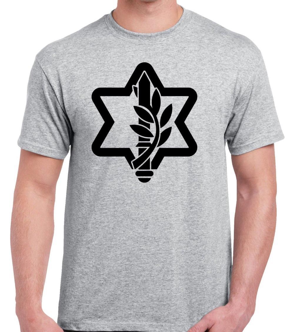 2020 Art und Weise kurze Ärmel neue israelische streitkräfte T-Shirt Spitzen kühle T-Shirt