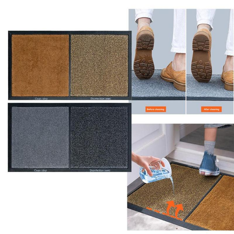 Home Disinfecting Mat Sanitizing Floor Mat Entrance Disinfection Doormat Entry Rug Disinfecting Door Shoe Home Hotel