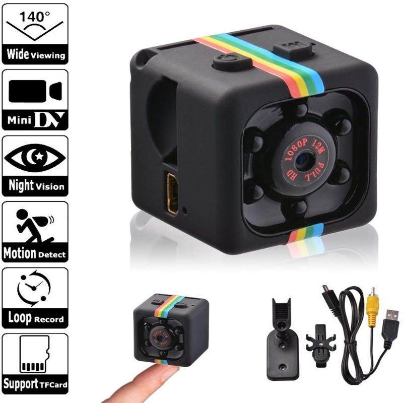 Mini-Kamera SQ11 HD 1080p Sensor Nachtsicht Camcorder Bewegung DVR Micro Kamera Sport DV Video Small Cam SQ 11 Spycam