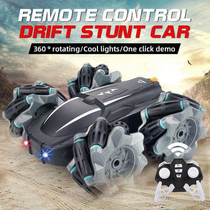 2.4G New High-speed 4WD RC Drift Stunt Car Model Remote Control Car boys Toys for Children RC Car
