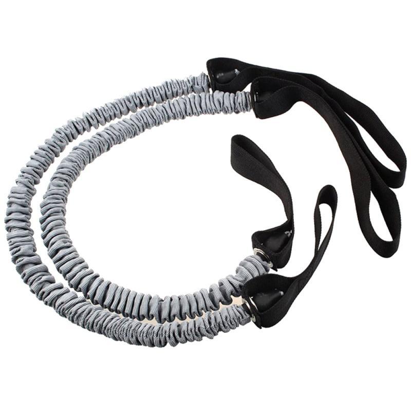 Фитнес-оборудование Сопротивление Диапазоны тренировка Резинка для Gym Фитнес Брюшного Обучения Упругого тросового Использования для Abb Roller