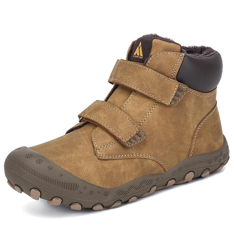 소년 겨울 어린이 야외 스니커즈 여자 플랫 신발 눈 어린이 발목 플랫폼 부츠 LJ200903 infantil TENIS