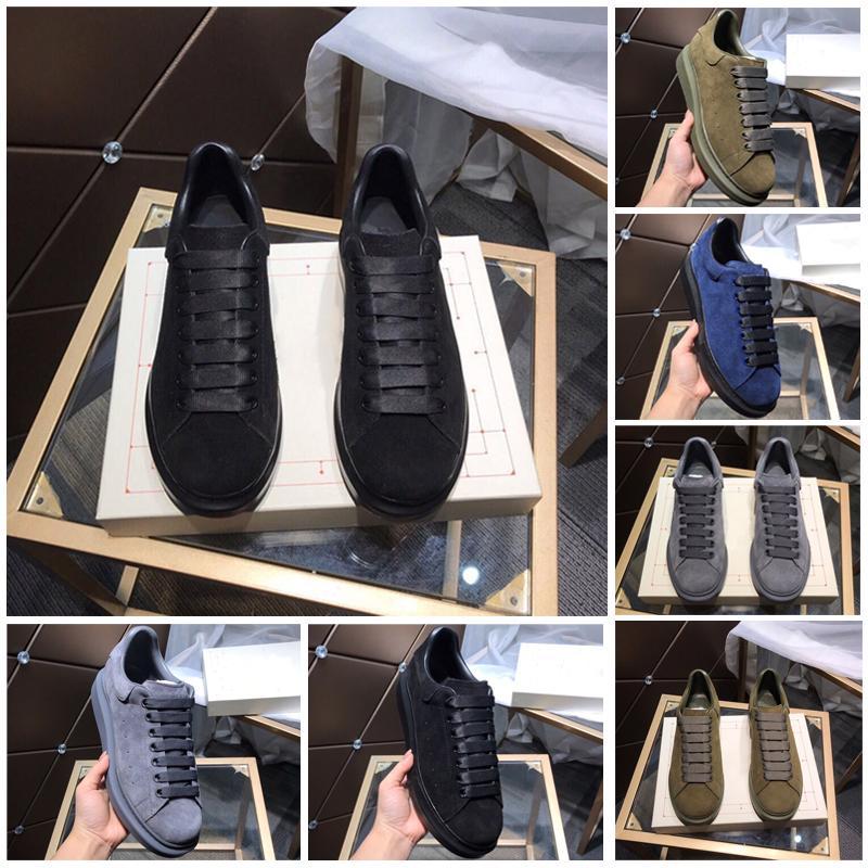 sapatos casuais unisexo, tingido forro de pele de carneiro, de alta temperatura e resistente à pressão planas ténis azul, tamanho da sapata 35 a 44