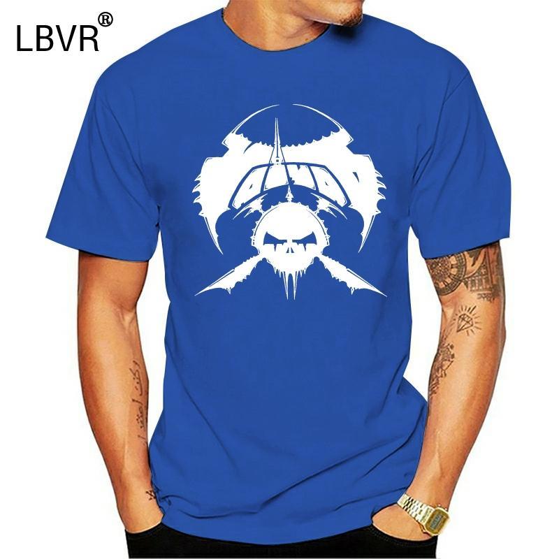 Tişört Voivod Klasik Logo Gömlek M XL Resmi Metal Tişört Yeni Siyah Pamuk Tişört Tişört Anime Tees