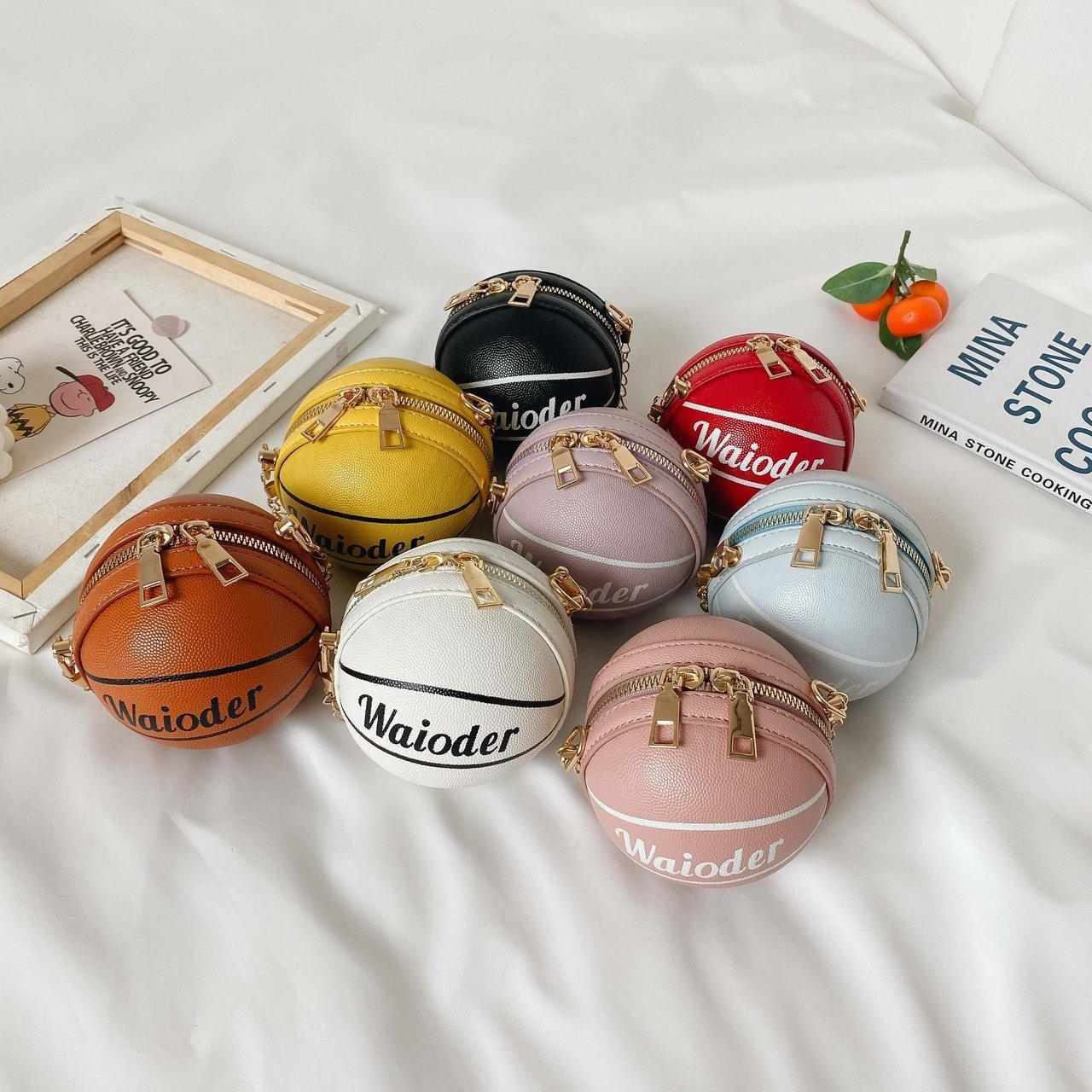 2020 moda infantil Bolsas coreano Crianças Mini Princesa bolsas grande capacidade Basketball Cross-corpo bonito Coin Bolsas Presentes Crianças Natal