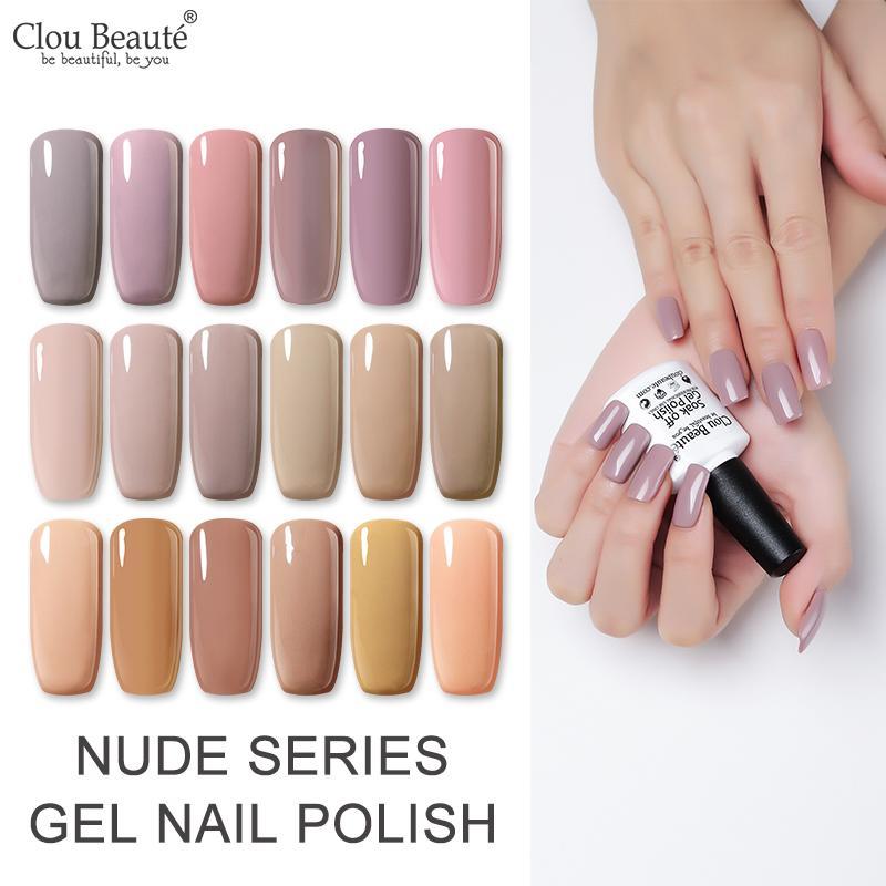 Clou Beaute Base Top Coat 15ml Gel Polish Semi Permanent