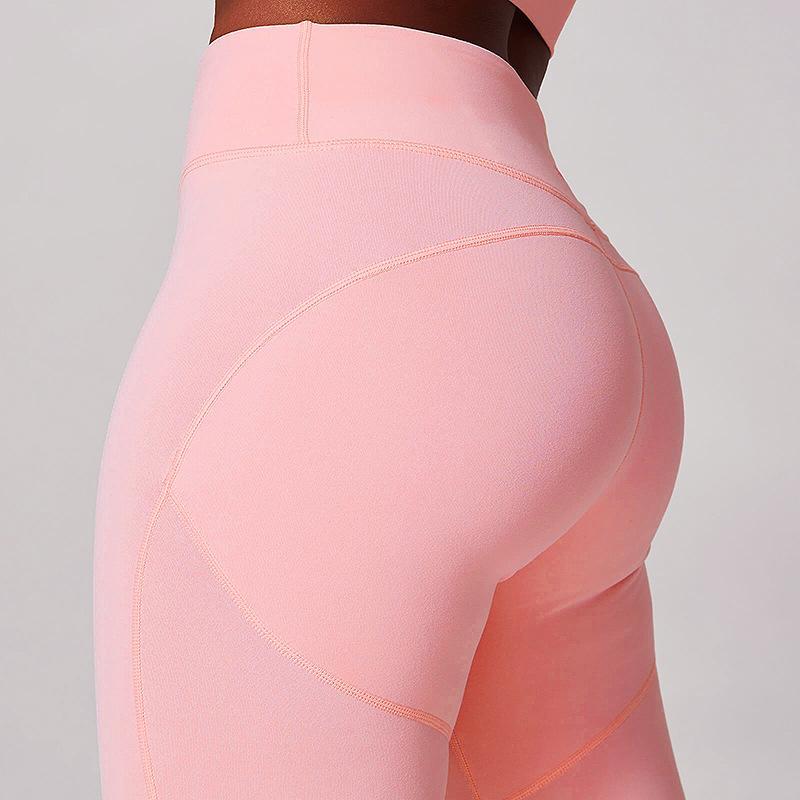 aptidão das mulheres de secagem rápida calças leggings calças de ioga treino fino respirável ginásio running legging impulso feminino até jeggings sensuais