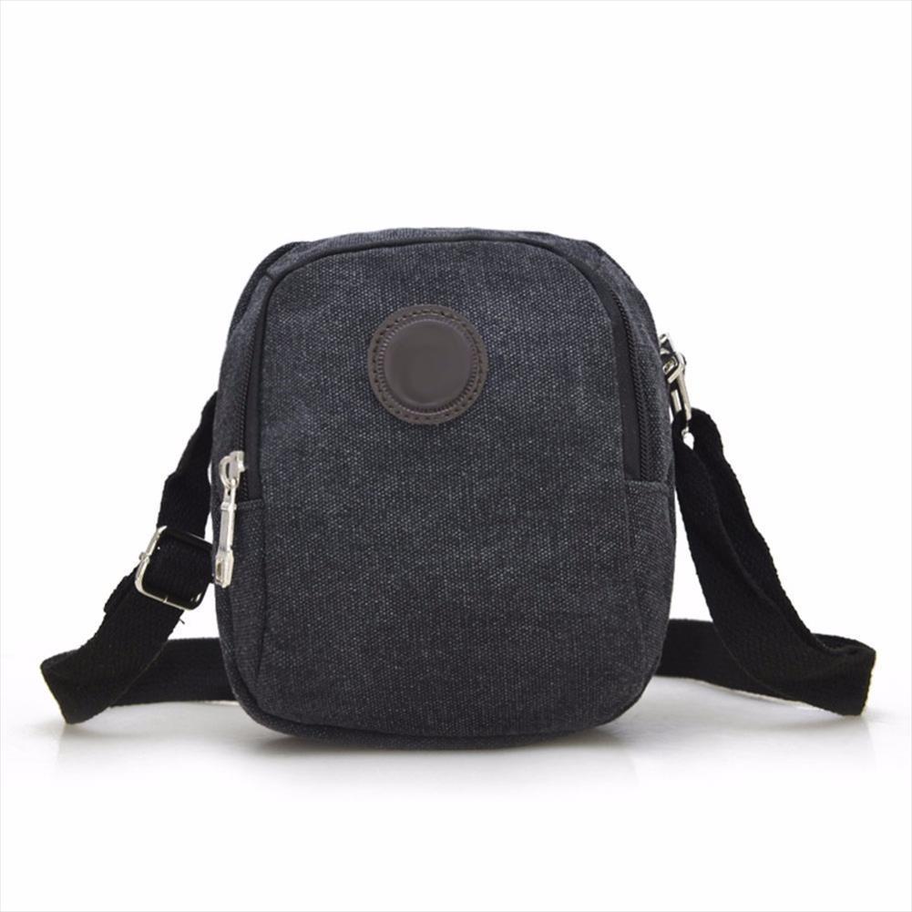 Bolsa Nueva llegada lona para hombre de la vendimia del hombro Crossbody Casual Bolsas para hombres ocio Viajes playa bolsa bolso masculino sólido Bolsos Mujer