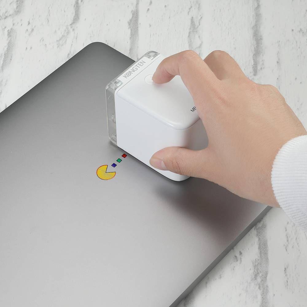 Freeshipping impressora a cores móvel portátil de menor impressora do PrinCube mundo com wifi funciona de conexão USB em qualquer material