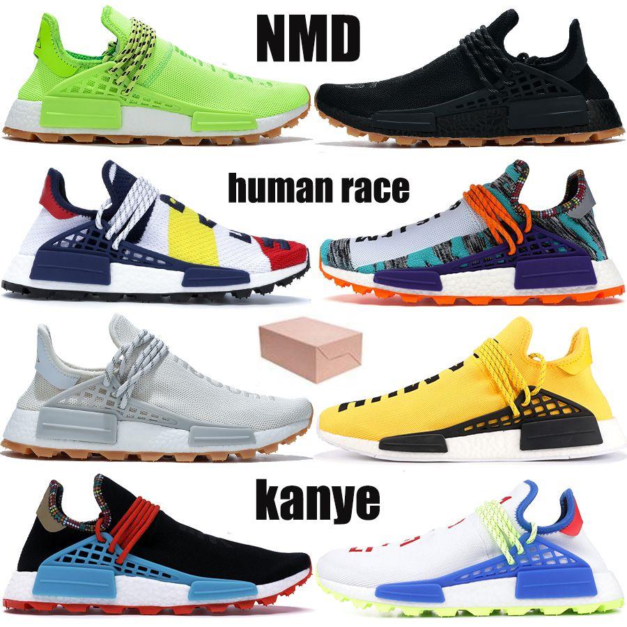 مع صندوق NMD الجنس البشري Pharrell Williams BBC يعرف روح الأنواع اللانهائية التنفس رغم أوريو هو هوى رجل الاحذية النساء أحذية رياضية