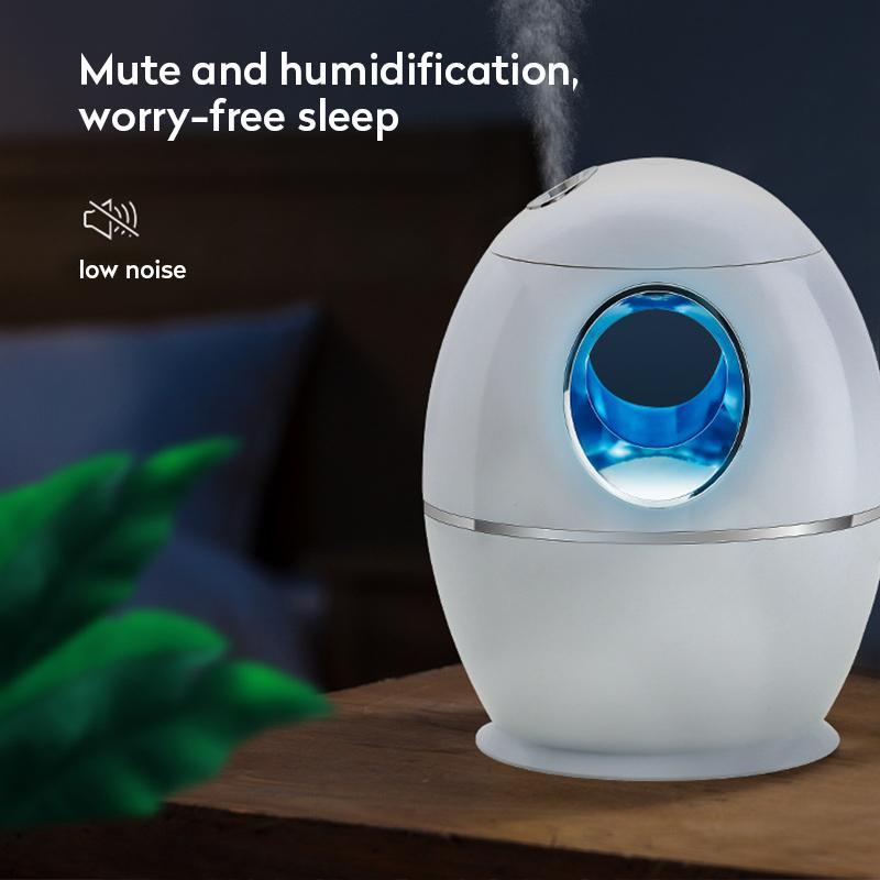 800ml umidificatore USB ultrasonico dell'aroma dell'olio essenziale diffusore Fogger del creatore della foschia con luce LED di notte per home office Car