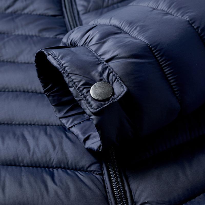 Herren Winter warme Outdoor-Daunenjacke heißen Verkauf Art und Weise ELC4ABB