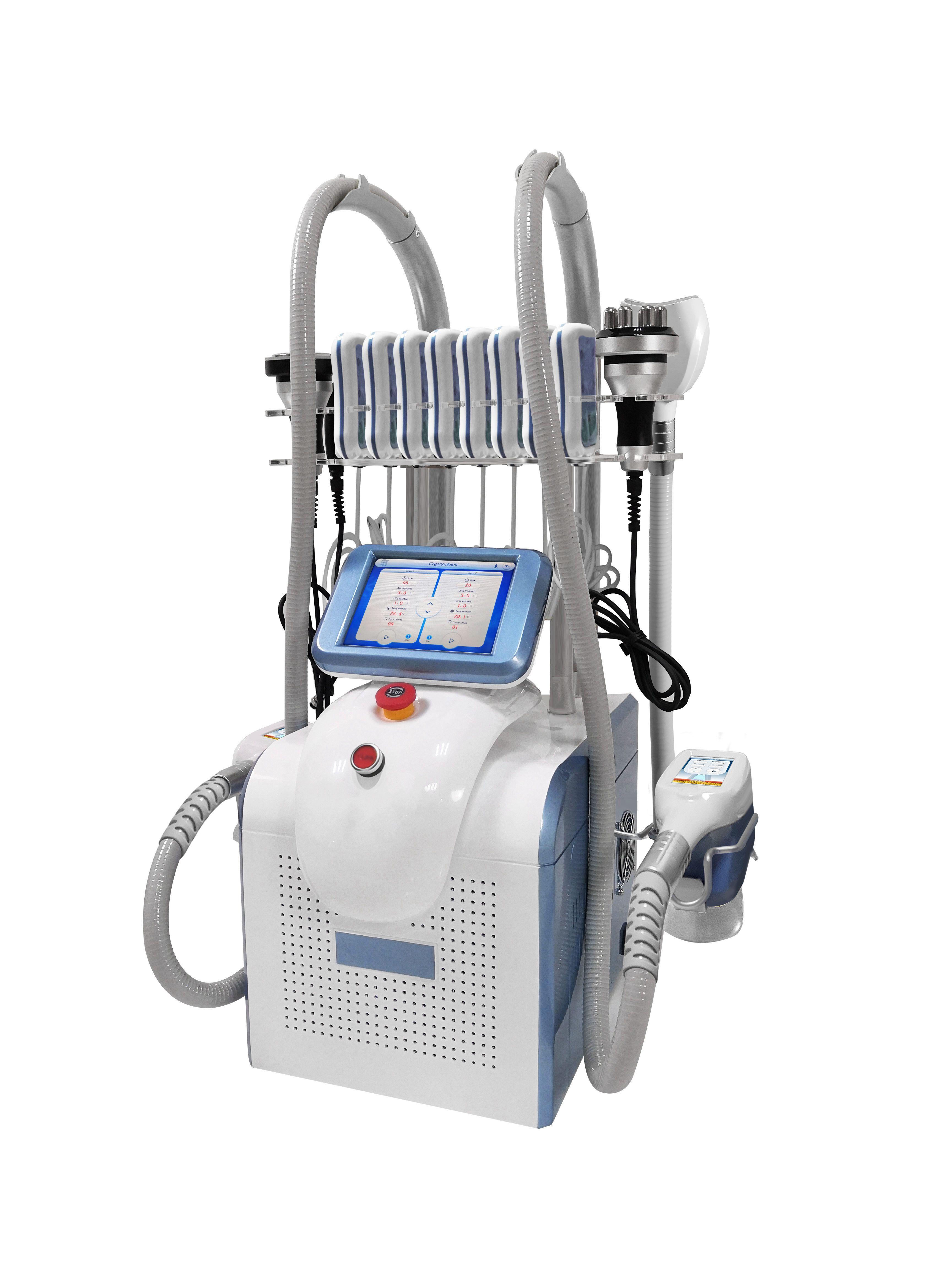 2020 Cryolipolysis آلة التجويف بالموجات فوق الصوتية ليبو الليزر 40 كيلو الدهون التجميد آلة مزدوجة الذقن إزالة الليزر التخسيس معدات الجمال