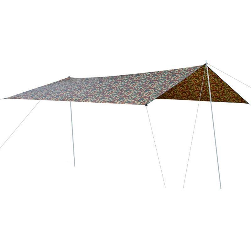 Campeggio esterno impermeabile Spiaggia Tenda da giardino Tenda Tarp Sun Shelter Tenda Patio Parasole Sunscreen picnic antipioggia ultraleggero