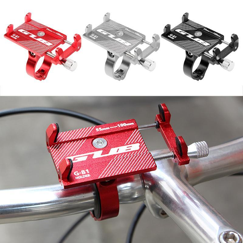 GUB Adjustable Bicycle Phone Mount Holder MTB Mountain Bike phone holder Motorcycle Handlebar Clip Stand Bicycle Accessories