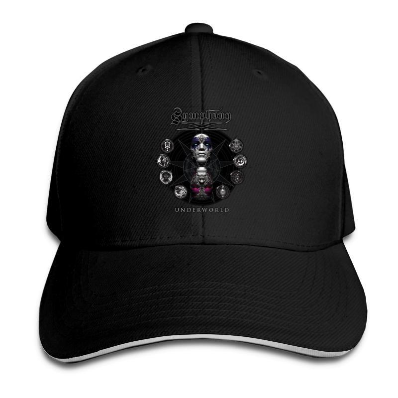 Gorras de béisbol los hombres de Symphony X malla transpirable snapback sombrero para el sol unisex para las mujeres casquillo de Hip Hop