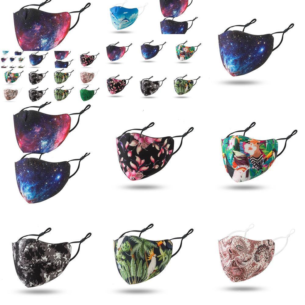 2020 Máscaras de diseño reutilizable moda adulto oído hebilla ajustable Máscara suave Yeayyeay Ehnk Rsgw 19 34cf