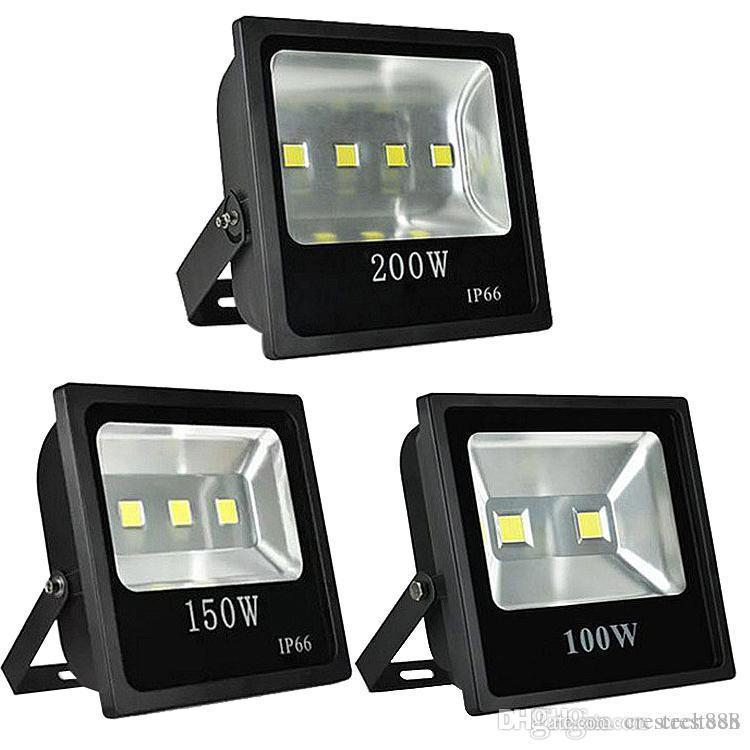 200 W RGB Sel Işıkları Açık Renk Değiştirme Su Geçirmez LED Güvenlik Işık RGB Spot Uzaktan Kumanda ile AC85-265V