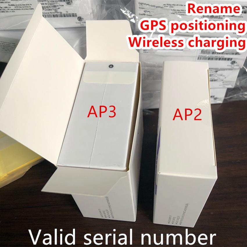 이어폰의 경우 에어 Gen 3 AP3 세대 3 H1 칩 금속 힌지 무선 충전 블루투스 헤드폰 Pods Pro AP2 2 세대 이어 버드