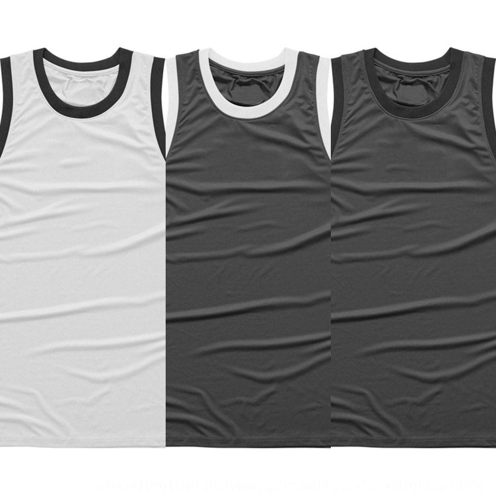 Loco de fitness muscular malla deportes de los hombres del ocio del chaleco de la camiseta del chaleco en forma de I ejecutar la capacitación mangas transpirable camiseta mTyuE