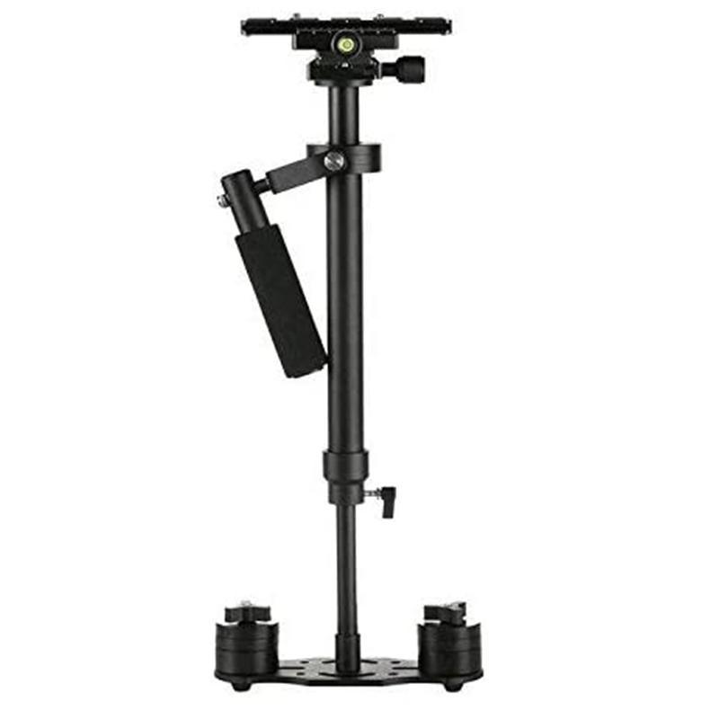 Nuova S60 Stabilizzatore Foto Video Handheld Stabilizzatore DSLR per / videocamera portatile 60 centimetri