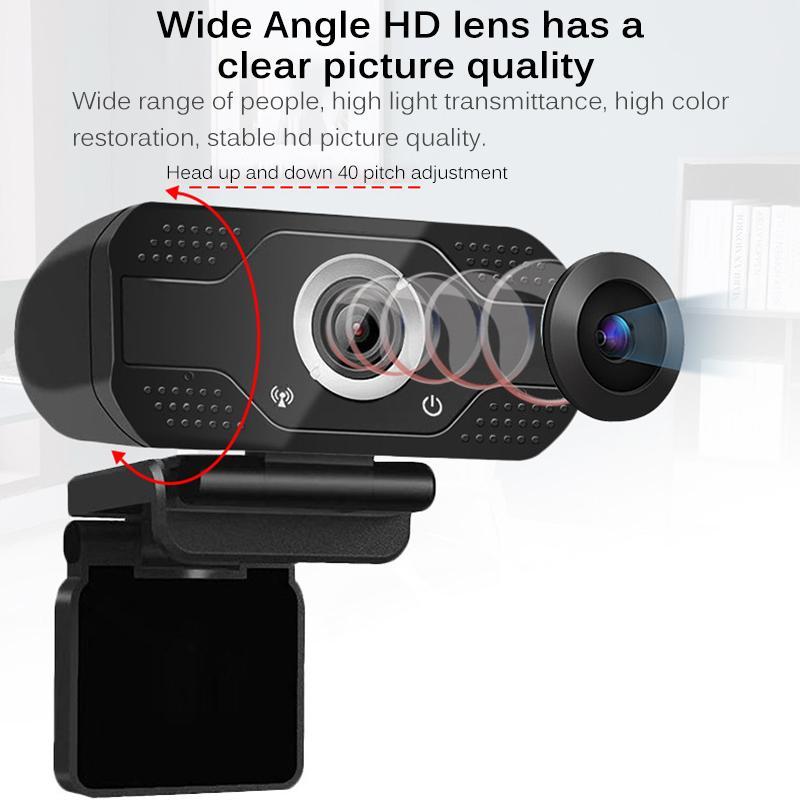1080 USB веб-камера компьютера PC Веб-камера с микрофоном камеры для ТРАНСЛЯЦИЯ видео Вызов конференции Работа