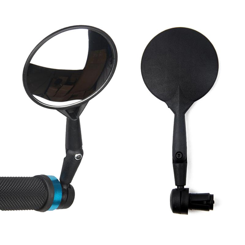 Bike Lights 2021 Sell Mini Mirrors Rotate Flexible Bicycle Cycling Rearview Handlebar Mirror Practical Accessories