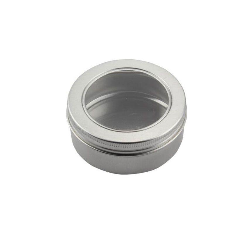 150ml Lip Containers Face Cream Jars Lotion Box Hair Wax Tins Aluminum Metal Pots Bottling Box Refillable 24pcs/lot