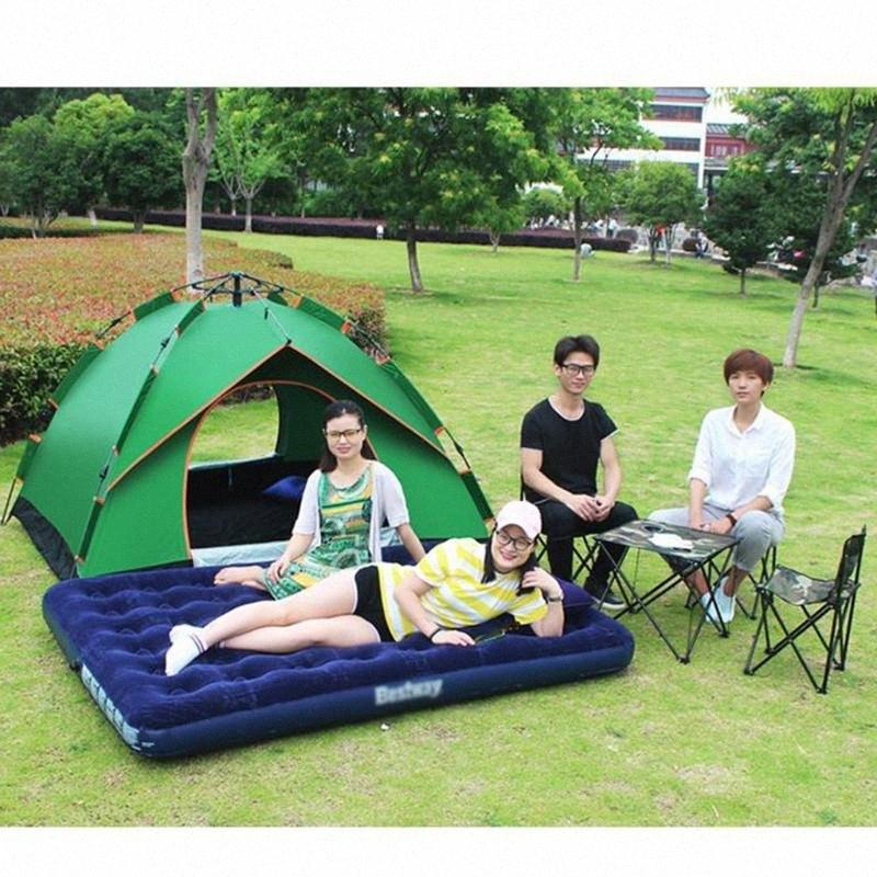 1 Pieces 1-2 People Instant Automatic -up Tent Double Door For Outdoor Camping Hiking Picnic Beach Folding Portable Tent w/ Bag ZUSs#