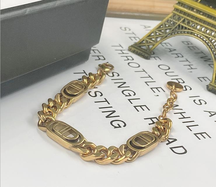 Neue einfache Halskette Armband europäischen und amerikanischen Stil, Mode Licht Luxus