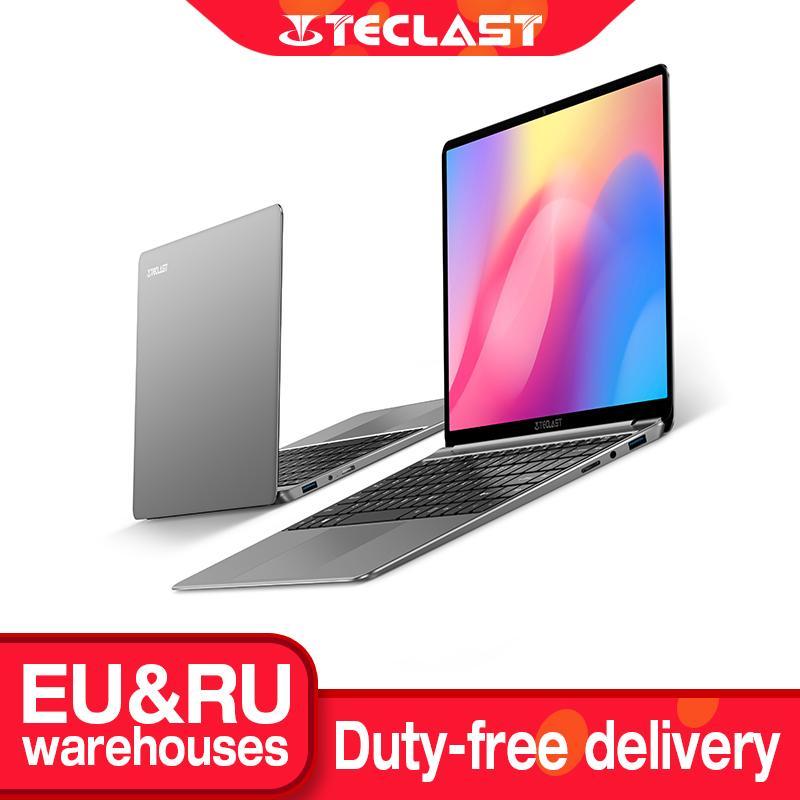 "Neueste Teclast F7S 14.1 ""Laptop 1920x1080 IPS Notebook 8 GB RAM 128 GB ROM-Laptops Windows 10 Intel Apollo Lake Dual WiFi-Computer"