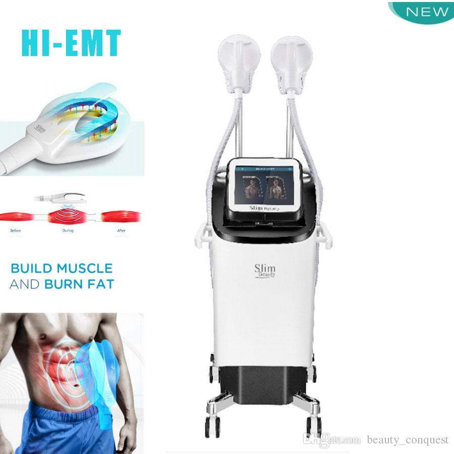 2020 아름다운 근육 Hiemt 기계 EMSculpting 기술 Emslim EM 조각 뚱뚱한 제거 바디 모양 슬리밍 기계 미용 살롱 사용