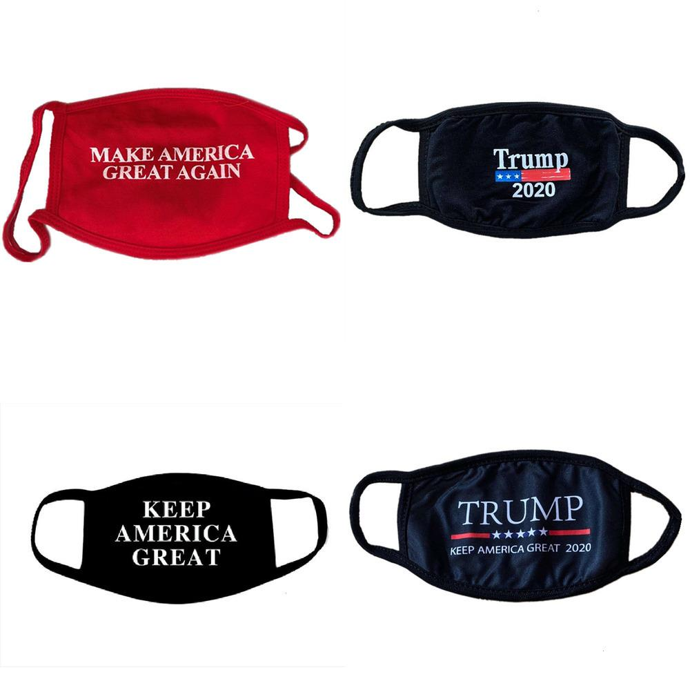 цвет президентских выборов взрослого американец ухо хлопок дышащая пыленепроницаемая моющаяся мягкая ткань маска OIM2