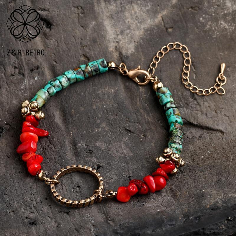 Declaração Cor da Pedra contas pulseira Mulheres pulseira 2020 Acessórios Os presentes para o Ano Novo Bracelet For Friends