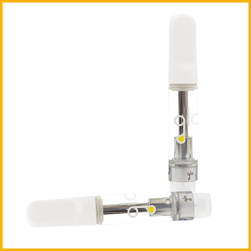 Glo Vape Cartucho Vaporize 1.0ml Vaporize Atomizer Cigarros Eletrônicos Atomizador Vape Pen Cartucho Atomizador Vape Vape Vape Cerâmica Bobina Carrinhos