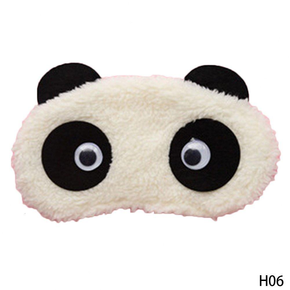 Panda New White Cute Face Eyeshade Shading Хлопок очки Eye Mask Sleep Обложка Health Care Ltze #