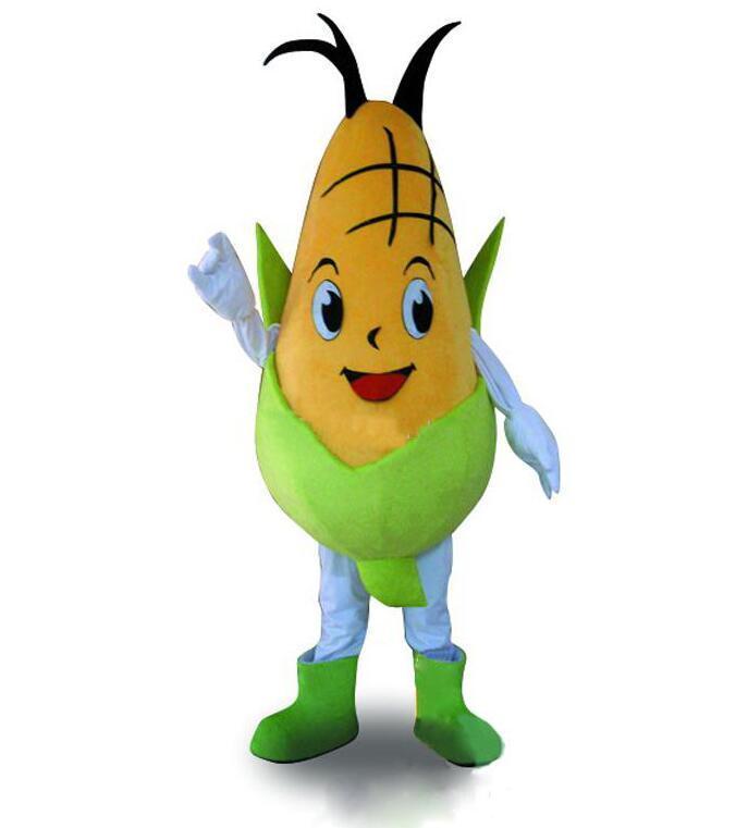 2019 Скидка фабрика продажа Кукурузный Кукурузный костюм талисмана Fancy платье партии Хэллоуин костюмы Карнавалы