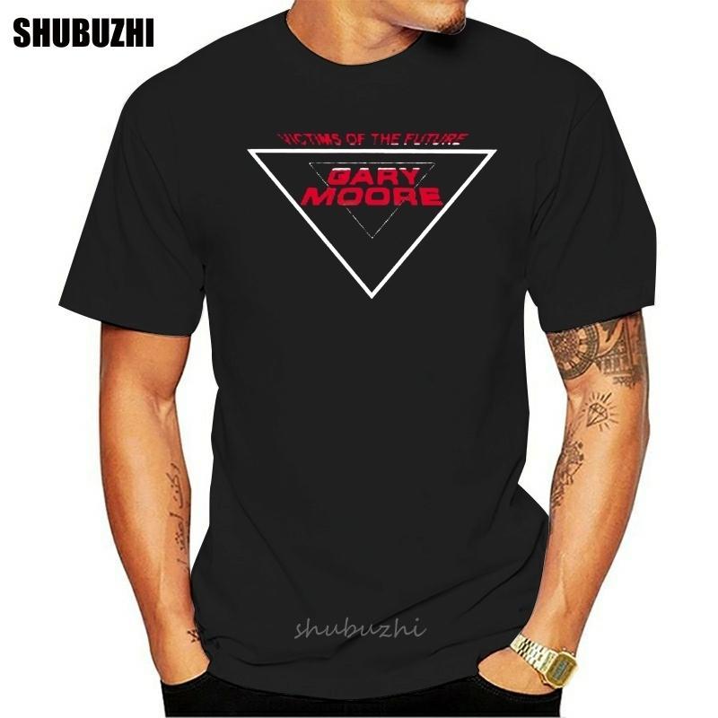 Gary Moore victimes de la musique avenir hommes T-shirt noir S M L XL 2XL 3XL hommes tshirt coton été Taille euro t-shirt fashion