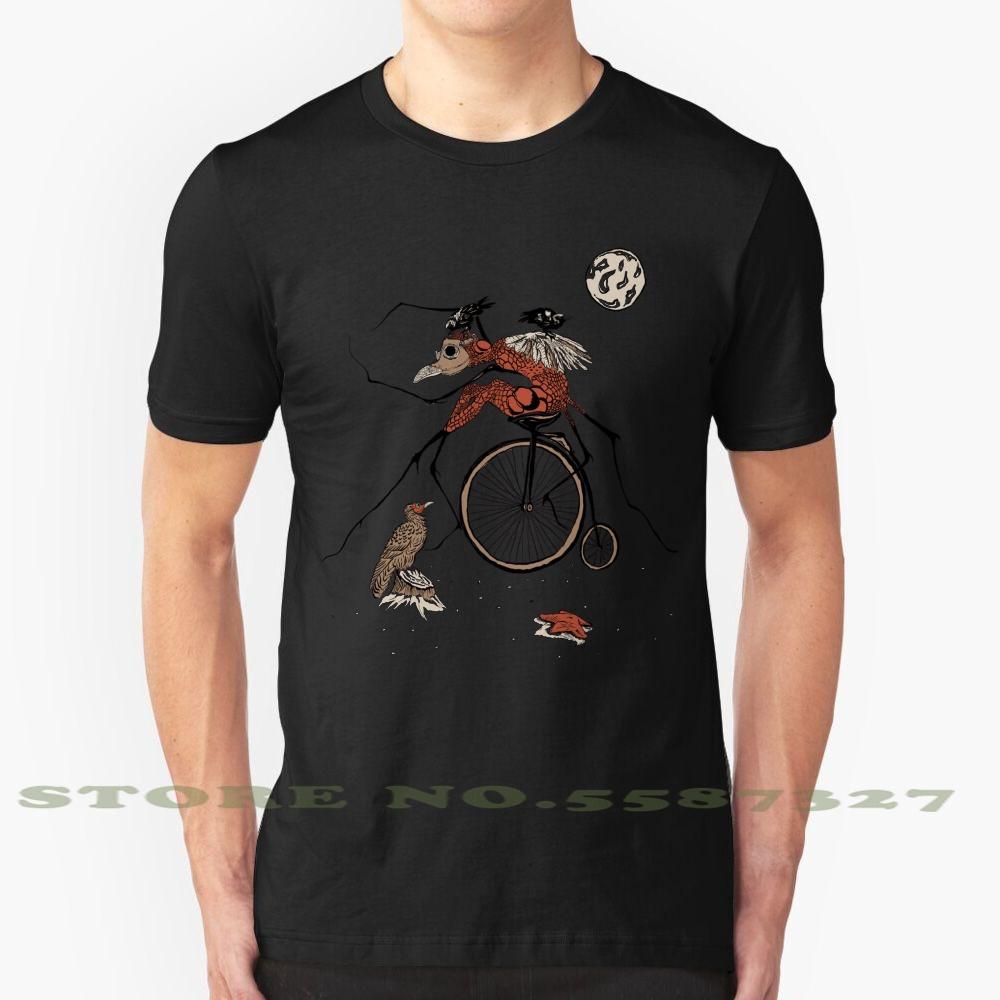 Gregor Raffreddare design alla moda T-shirt Tee Fantasy magico Vintage funghi Kafka Division Bell Ponte Foresta Giungla Cappello Nero Rosso