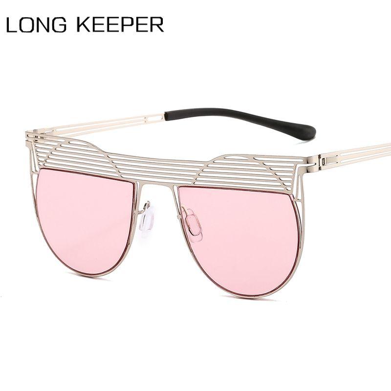 Vintage rond steampunk rétro uv400 hommes métal cadre lunettes de soleil lentille oculos soleil lunettes lunettes nuances océan femme xjfuu