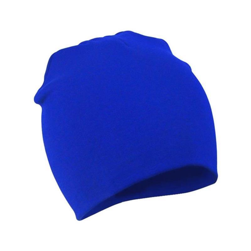 Bébé Enfant solide Stuff chaud chaud chapeaux d'hiver Enfants Garçon Fille Coton Bonnets Accessoires Cap bébé Tout-petit bébé doux Chapeau sqcwD