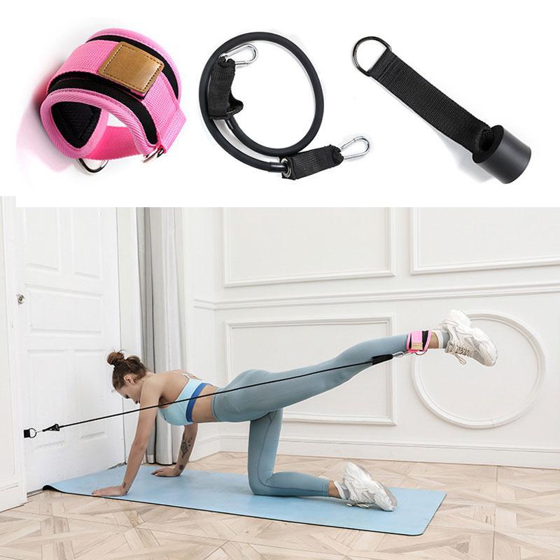 Widerstand-Bänder setzen Pull Rope Latex Fitness-Übungen Widerstand Band Übungen Body Fitness Workout Kraft Fitnessgeräte