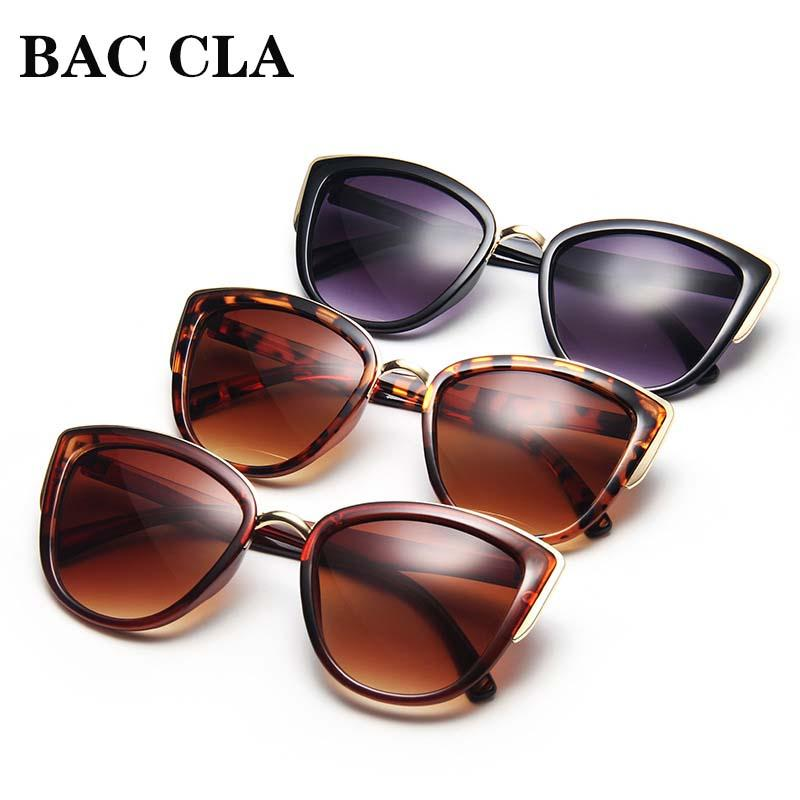 BAC CLA Fashion Cat Eye Sunglasses Women Retro Cateye Ladies Sun Glasses Stylish Driving Eyewear Female UV400 Sunglasses Women