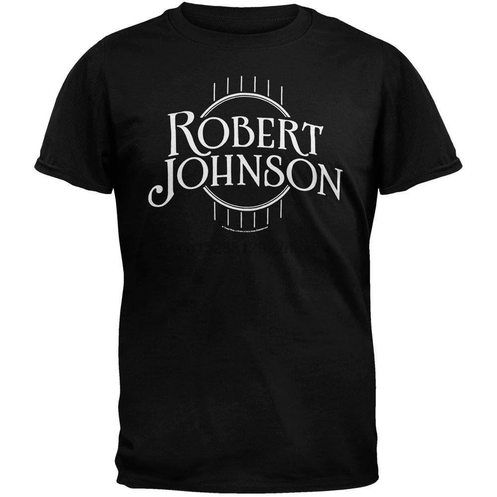 Robert Johnson - Logo Mens T-shirt 2x grand noir