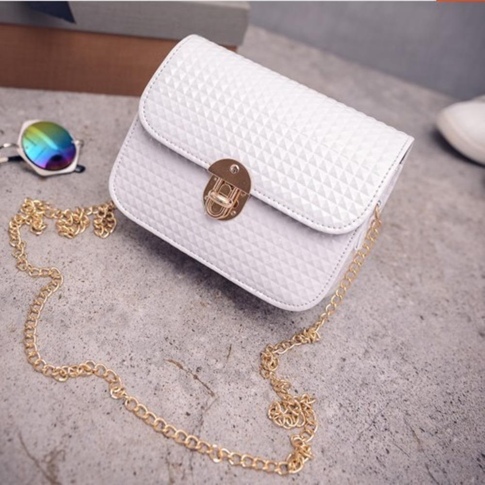 2020 primavera e no verão novo estilo coreano brilhante couro fecho giratório mensageiro feminina conjunto simples pequeno quadrado saco de moda pequena bolsa WD quadrado